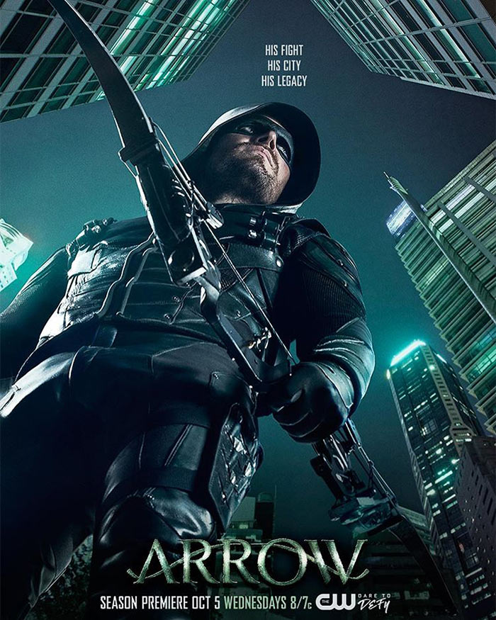 Arrow Saison 5 Poster