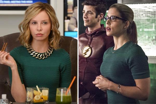 Robe Verte dans Supergirl et The Flash