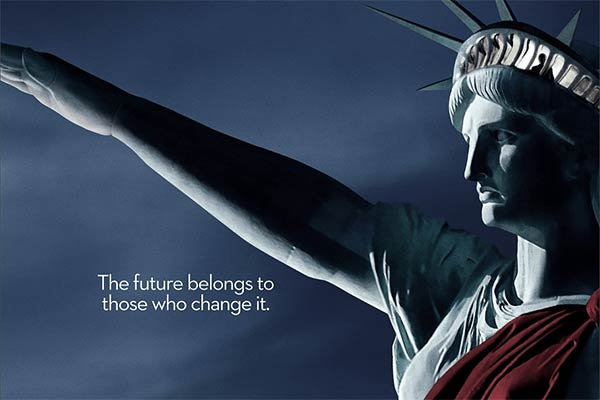 the man in the high castle saison 2 statue de la liberte - Une série d'affiches pour The Man in The High Castle saison 2 à moins de 2 mois du lancement