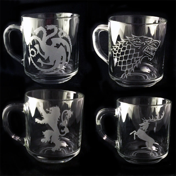 Set de tasses Game of Thrones