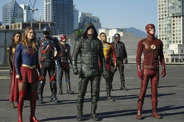 Supergirl, Arrow et The Flash pour le crossover