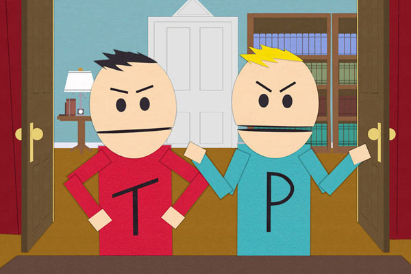 The Terrance and Phillip Show South Park - 10 séries qui existent uniquement dans d'autres séries