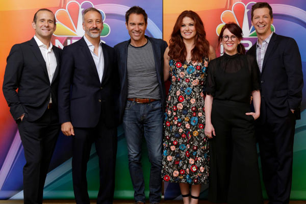Will and Grace NBC TCA Summer Press Tour - Une saison 10 pour Will & Grace et NBC ajoute plus d'épisodes à la saison 9